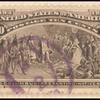 10c black brown Columbus Presenting Natives single