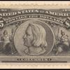 $5 black Columbus block of four