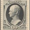 30c greenish black Alexander Hamilton single