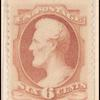 6c dull rose Lincoln single