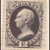 12c blackish purple Henry Clay single