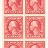 2c Washington booklet pane of six