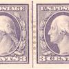 3c violet Washington pair