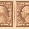 4c brown Washington pair