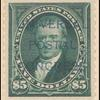 $5 dark green Marshall specimen single