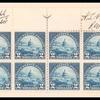 $2 deep blue US Capitol block of twenty