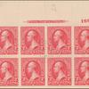 2c carmine Washington block of eight