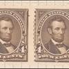 4c dark brown Lincoln pair
