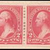 2c carmine Washington horizontal pair