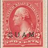 2c rose carmine Washington single