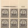 $1 black Farragut block of six