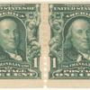 1c blue green Franklin coil pair