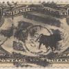 $1 black Western Cattle in Storm single