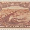 $2 orange brown Mississippi River Bridge single