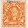 50c orange Jefferson specimen single