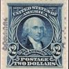 $2 dark blue Madison specimen single