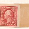 2c carmine Washington horizontal strip of four