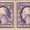 3c deep violet Washington pair