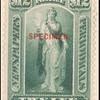 $12 blue green Vesta Specimen single