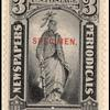 3c black Statue of Freedom Specimen single