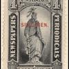 4c black Statue of Freedom Specimen single