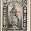 6c black Statue of Freedom Specimen single