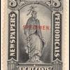 8c black Statue of Freedom Specimen single