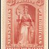 24c red Justice Specimen single