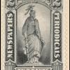 2c gray black Statue of Freedom single