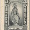 3c gray black Statue of Freedom single