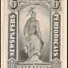 6c gray black Statue of Freedom single