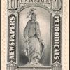 10c gray black Statue of Freedom single