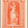 $3 red vermilion Victory single