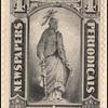 4c black Statue of Freedom single