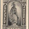 10c black Statue of Freedom single
