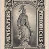 2c black Statue of Liberty single