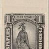 1c black Statue of Freedom single