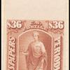 36c Indian red Commerce single