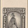 3c black Statue of Freedom single
