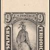 9c black Statue of Freedom single