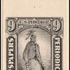 9c black Statue of Freedom single