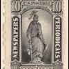 10c intense black Statue of Freedom single