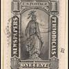 1c intense black Statue of Freedom single