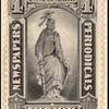 4c intense black Statue of Freedom single