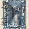 $5 dark blue Clio single