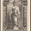 1c black Statue of Freedom Specimen single