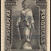 2c black Statue of Freedom overprint single