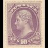 10c purple Jefferson single