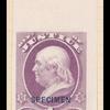 1c purple Washington Specimen single