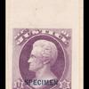 2c purple Jackson Specimen single